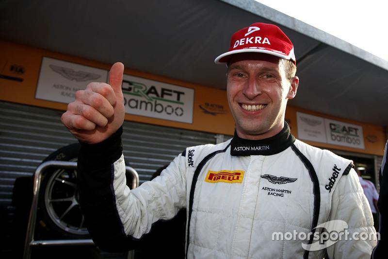 Polesitter Stefan Mücke, Craft-Bamboo AMR, Aston Martin Vantage GT3
