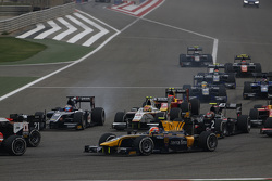 Mitch Evans, RUSSIAN TIME and Rio Haryanto, Campos Racing