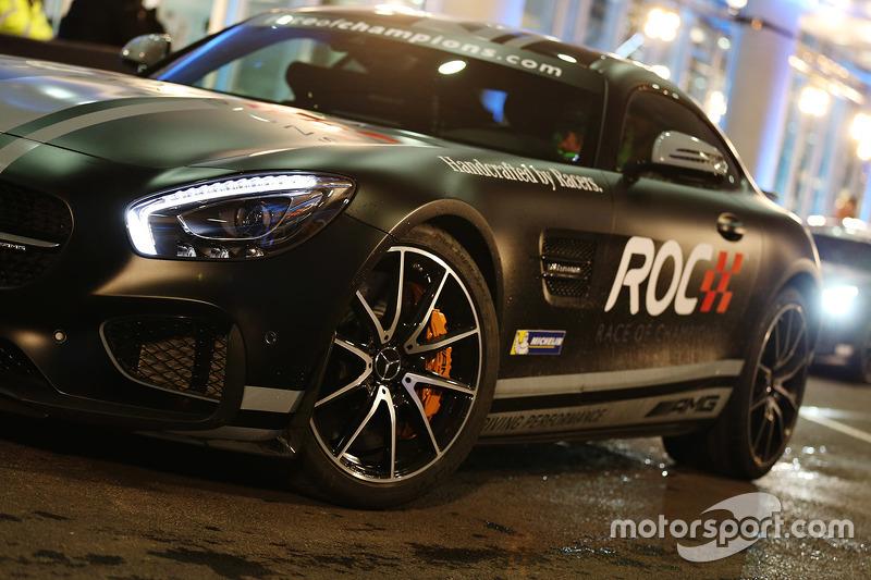 Mercedes AMG RoC car