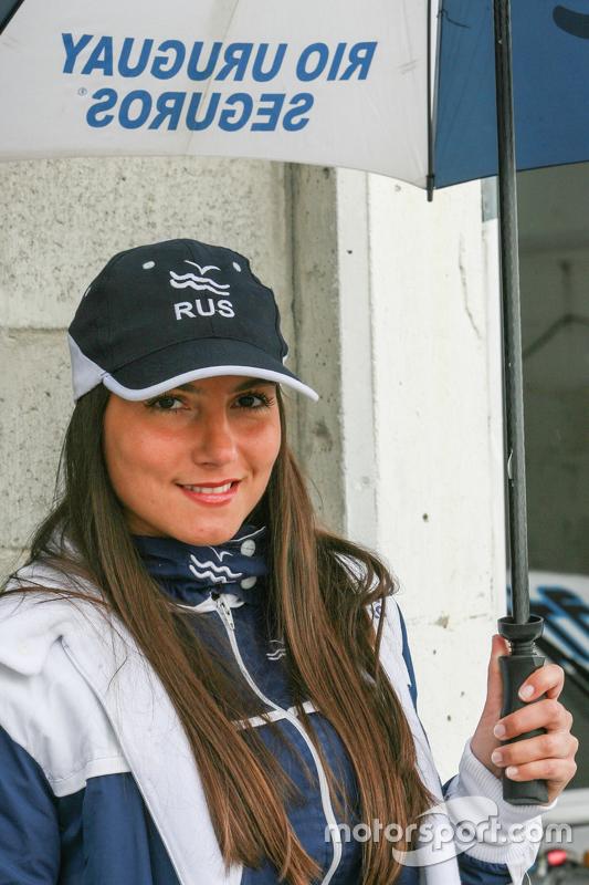 Паддок дівчата Аргентини Rio Uruguay Seguros