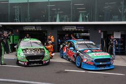 David Reynolds, Rod Nash Racing, Ford; Cameron Waters, Prodrive Racing Australia, Ford