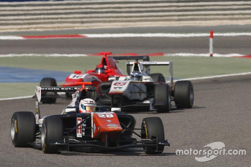 Мішель Беретта, Trident лідирує Заід Ашканані, Campos Racing та Александер Босак, Arden Internation