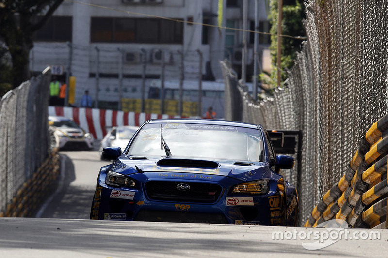 Alain Menu, Subaru STi TCR, Top Run Motorsport