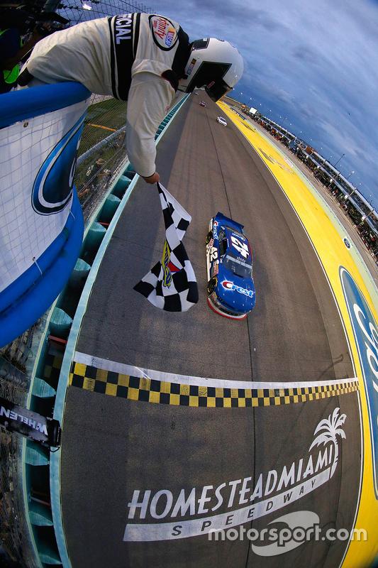 Kyle Larson, HScott Motorsports with Chip Ganassi