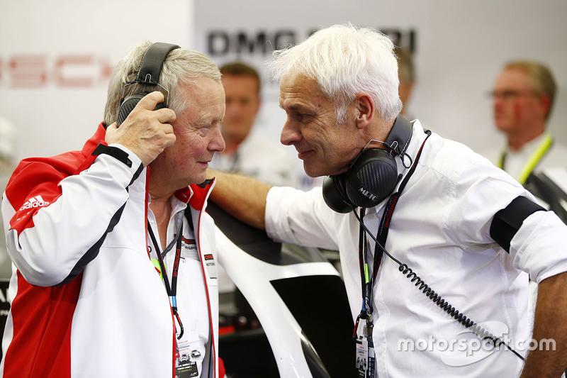Dr. Wolfgang Porsche und Matthias Müller, Geschäftsführer der Volkswagen AG