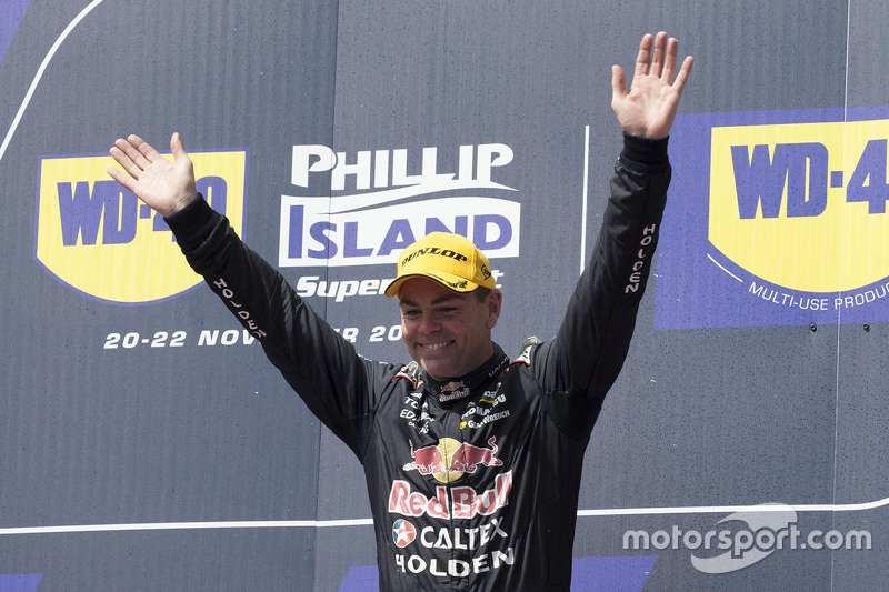 Podium: 1. Craig Lowndes, Triple Eight Race Engineering, Holden