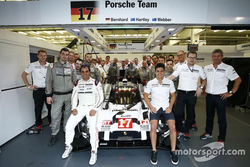Мітч Еванс та Хуан Пабло Монтоя, Porsche Team