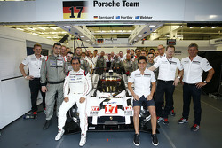 Mitch Evans and Juan Pablo Montoya, Porsche Team