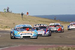 Martin Ponte, Nero53 Racing Dodge, Emanuel Moriatis, Alifraco Sport Ford, Jose Manuel Urcera, Las Toscas Racing Torino