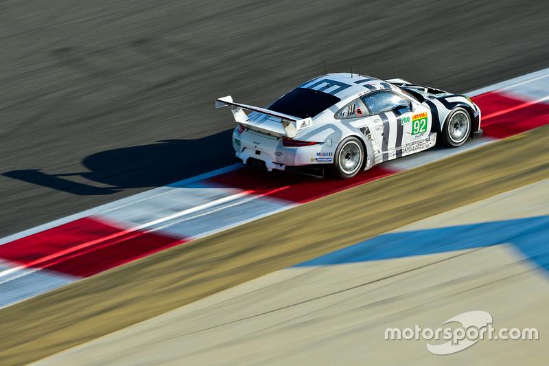 #92 Porsche Team Manthey, Porsche 911 RSR: Nicky Catsburg