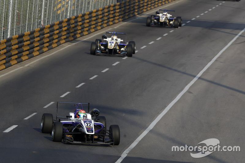 Chang Wing Chung, Fortec Motorsport, Dallara Mercedes