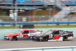 Jeremy Clements, Jeremy Clements Racing Chevolet and Ryan Reed, Roush Fenway Racing Ford