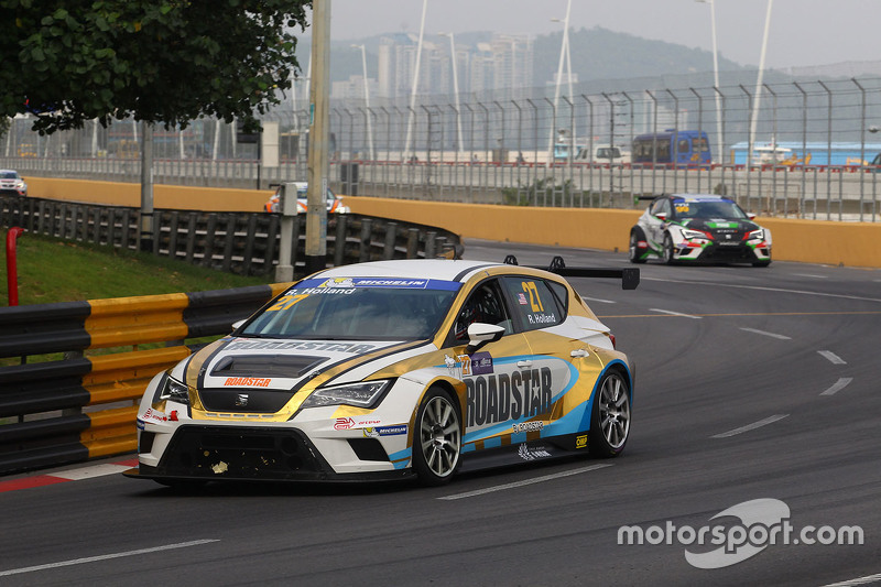 Robb Holland, SEAT Leon, Roadstar Racing Team