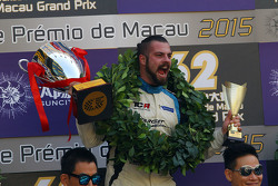 Podium: winner and TCR 2016 Champion Stefano Comini, SEAT Leon, Target Competition