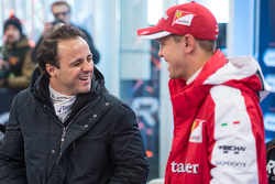 Felipe Massa and Sebastian Vettel