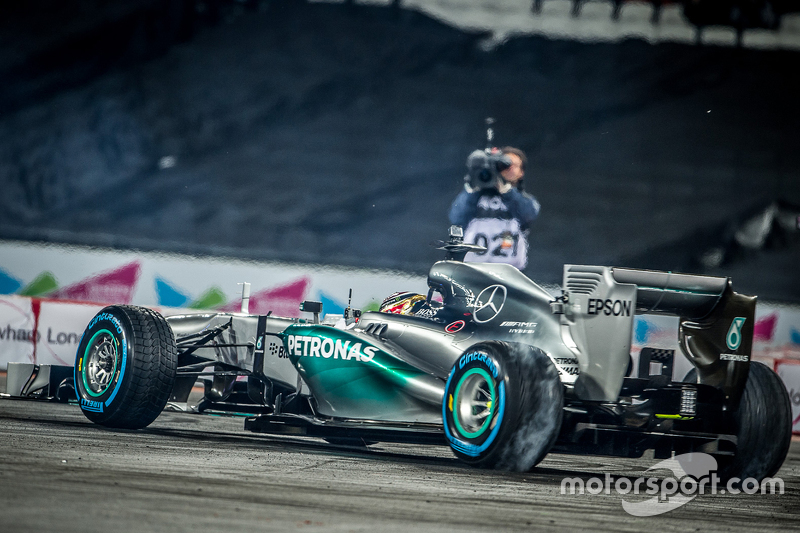 Pascal Wehrlein in the Mercedes AMG F2