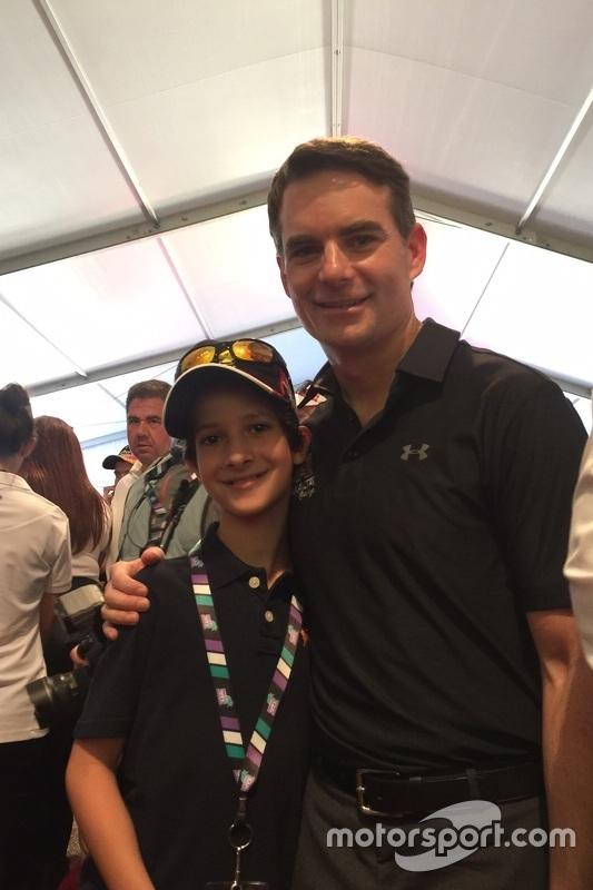 Jeff Gordon reencontra Felipe Bartz em 2015