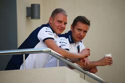Valtteri Bottas, Williams avec Antti Vierula, son entraîneur personnel