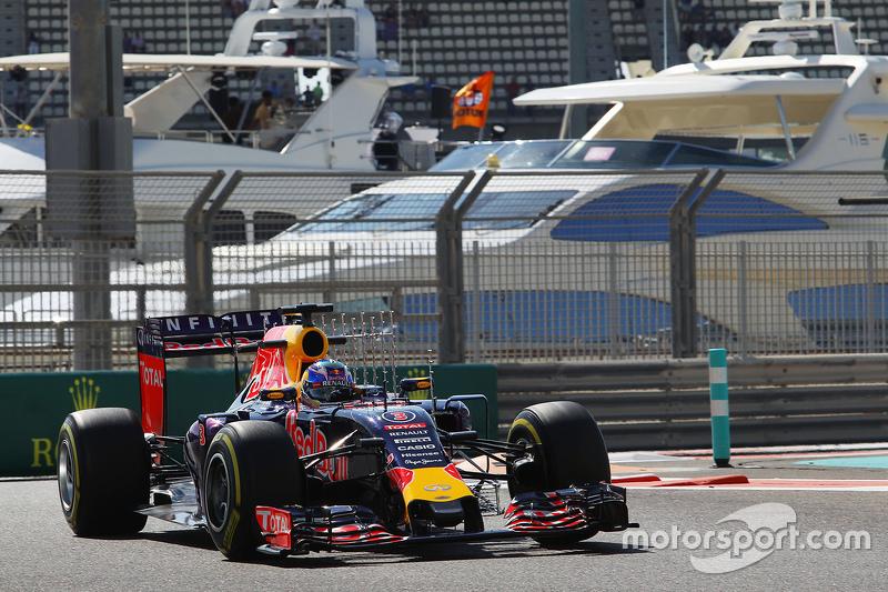 Даниэль Риккардо, Red Bull Racing RB11 с сенсорами намашине