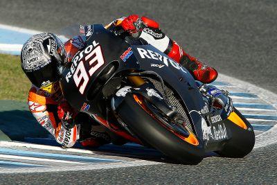 MotoGP-Tests in Jerez, November