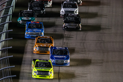 Restart: Matt Crafton, Thorsport Racing leads the field
