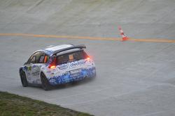 Luca Pedersoli und Veronica Boni, Citroën C4