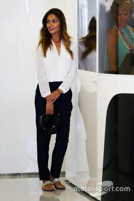 Lara Alvarez, vriendin van Fernando Alonso, McLaren