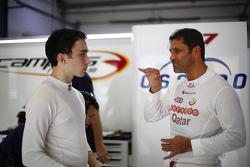 John Filippi, Chevrolet RML Cruze TC1, Campos Racing; Nasser Al-Attiyah, Chevrolet Cruze, Campos Racing