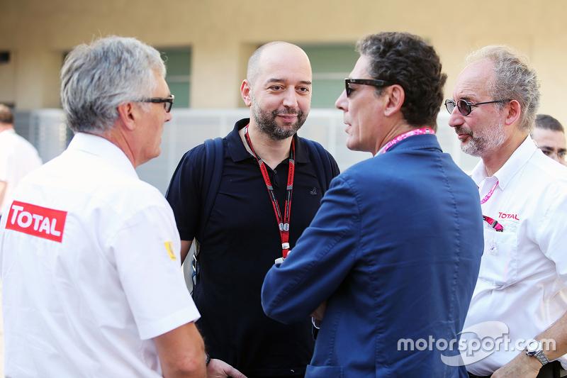 Гран При Абу-Даби, 27 ноября. Жерар Лопес, руководитель Lotus F1 Team