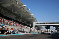 The drivers' end of season group photograph