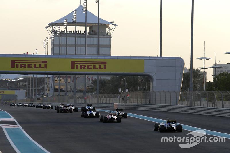 Start in Abu Dhabi