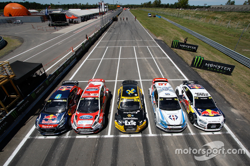 Peugeot, Ford, Audi, Volkswagen represented in World Rallycross