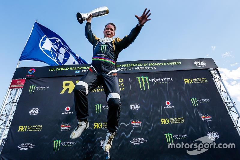 Rallycross-WM (WRX): Petter Solberg (Norwegen)