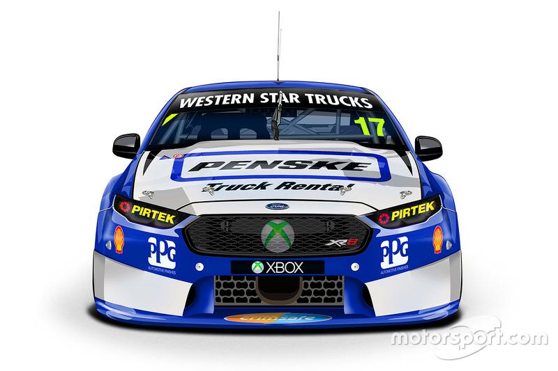 Нова ліврея для Скотт Пай, DJR Penske Racing