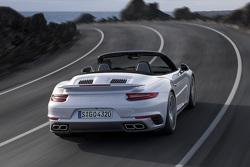 De nieuwe Porsche 911 Turbo Cabriolet