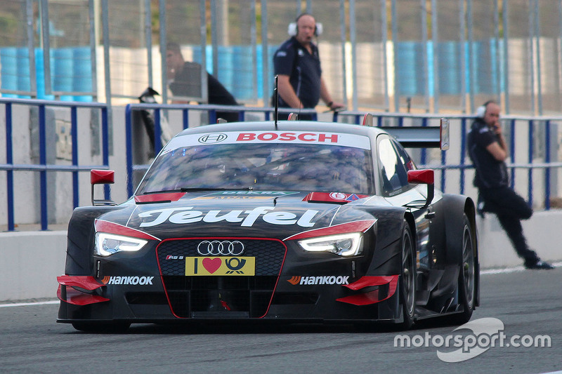 Antonio Giovinazzi, Audi RS 5 DTM, Testauto