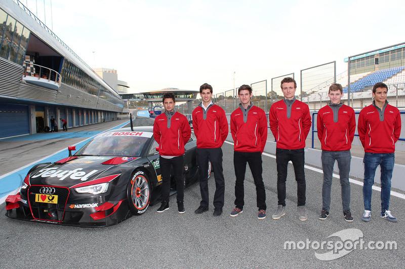 Alex Palou, Ben Hanley, Arthur Pic, Mitch Evans, Antonio Giovinazzi, Matthew Brabham
