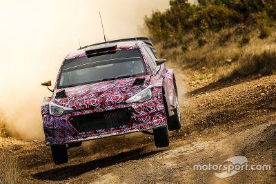 Testes do Hyundai i20 WRC 2016