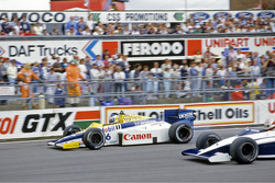 Keke Rosberg, Williams and Nelson Piquet, Brabham
