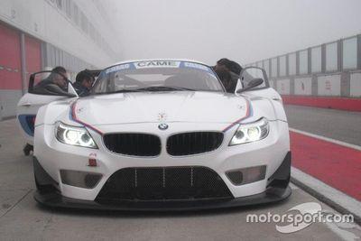 Primo test Zerocinque Motorsport con la BMW Z4 GT3