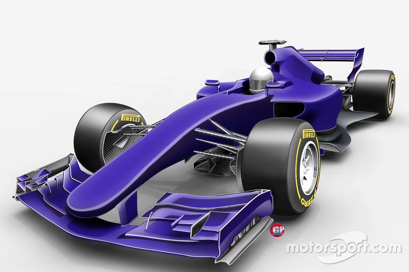#7: So sieht die Formel 1 ab 2017 aus