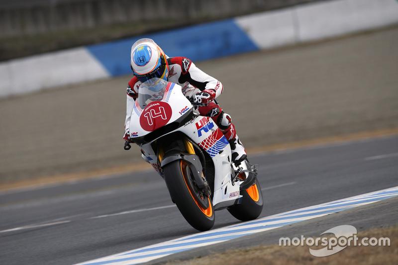 Fernando Alonso rijdt op een Honda-motor