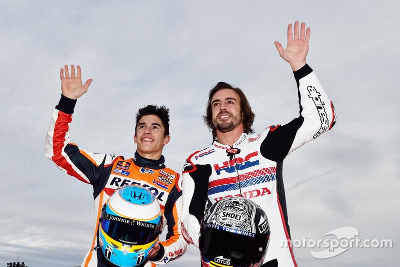 Marc Marquez, dan Fernando Alonso