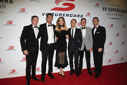 Mark Winterbottom, Prodrive Racing Australia, Ford; Fabian Coulthard, Brad Jones Racing, Holden; Craig Lowndes, Triple Eight Race Engineering, Holden; David Reynolds, Rod Nash Racing, Ford; James Courtney, Holden Racing Team, und Delta Goodrem