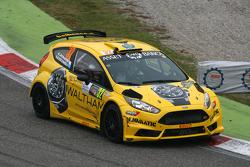 Emanuele Zonzini and Silvio Stefanelli, Ford Fiesta