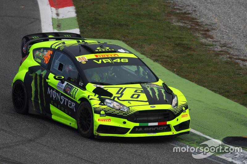 Valentino Rossi e Carlo Cassina, Ford Fiesta