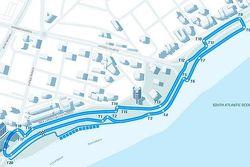 ePrix Punta del Este, cambios en la ruta