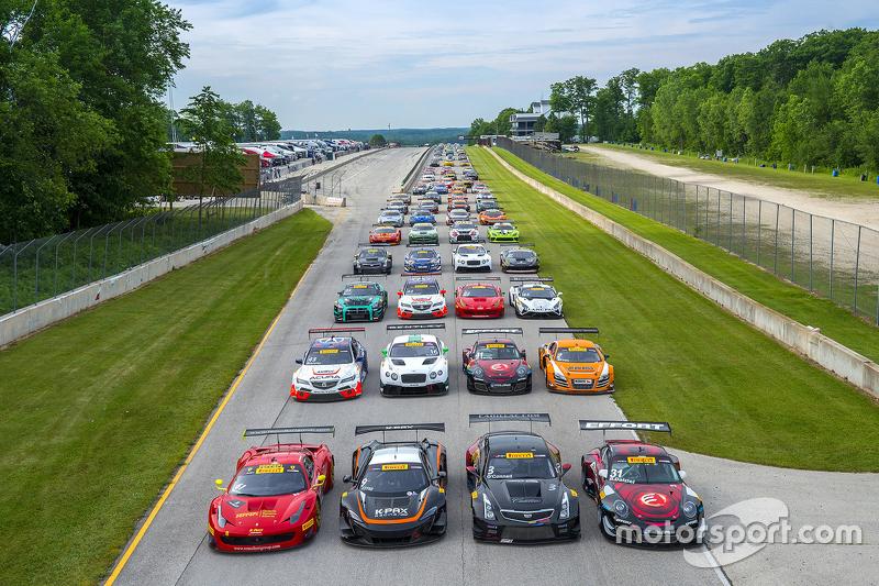 Full Pirelli World Challenge grid