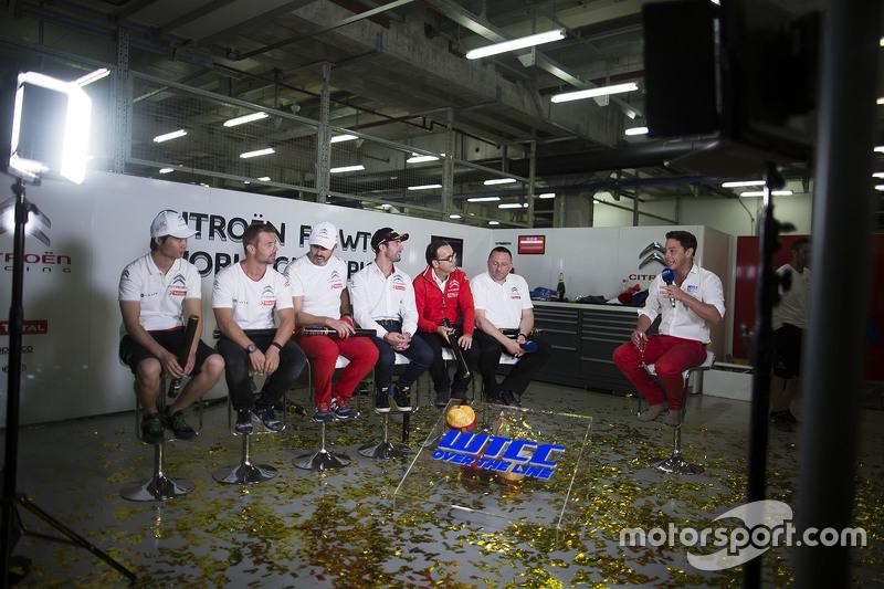 Ма Цин Хуа, Citroën World Touring Car team, Себастьєн Леб, Citroën World Touring Car team, Іван Мулл
