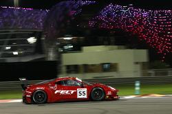 السيارة رقم 55 إيه إف كورسي فيراري 458 إيطاليا: جاك جربر، ماركو سيوسي، إيليا ميلينكوف
